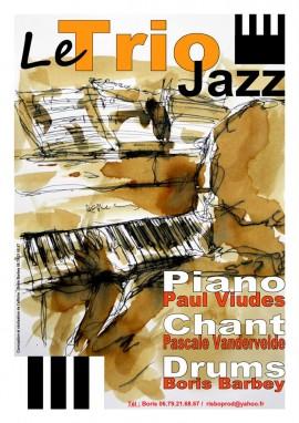 Tapas Concert : Le trio Jazz