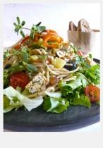 Spaghettini en salade