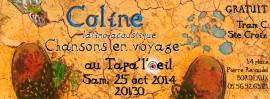 Coline en concert au TapalOeil