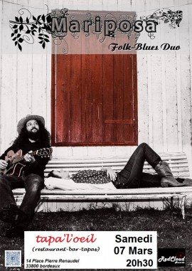 Mariposa duo Folk/Blues