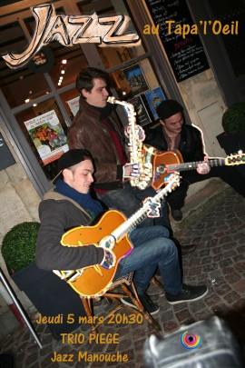 Trio Piege Jazz Manouche