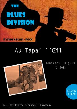 Affiche Blues Division Tapaloeil